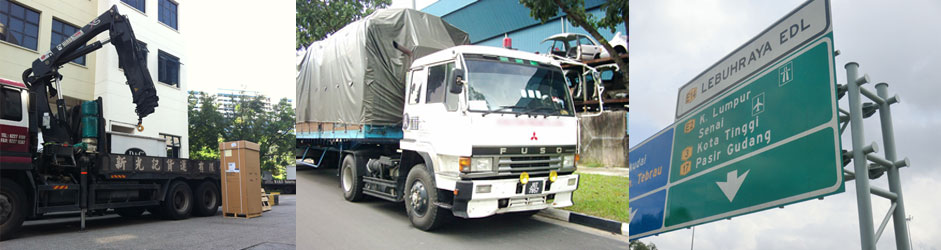 S2M Freight Services Pte Ltd Trucking Fleet Logistics for Singapore to Malaysia Door to Door Deliveries