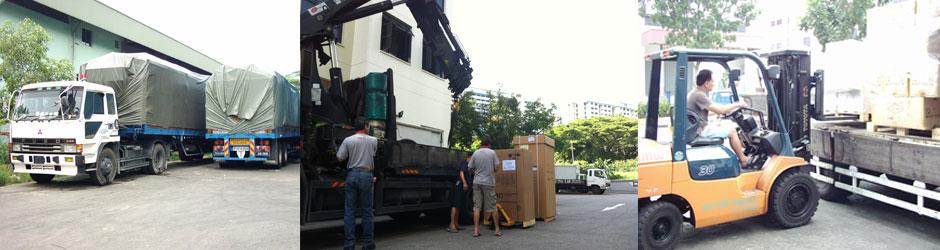 S2M Freight Services Pte Ltd Warehouse Logistics Forklift Inventory Management