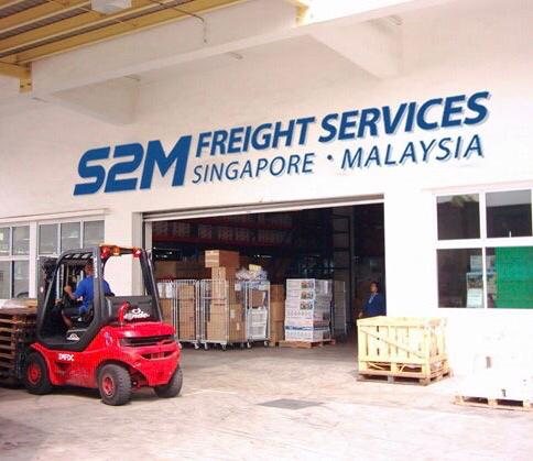 S2m Freight Services provides warehousing and logistics distribution services from Singapore to Malaysia